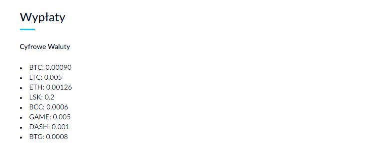 wyplata bitbay prowizje